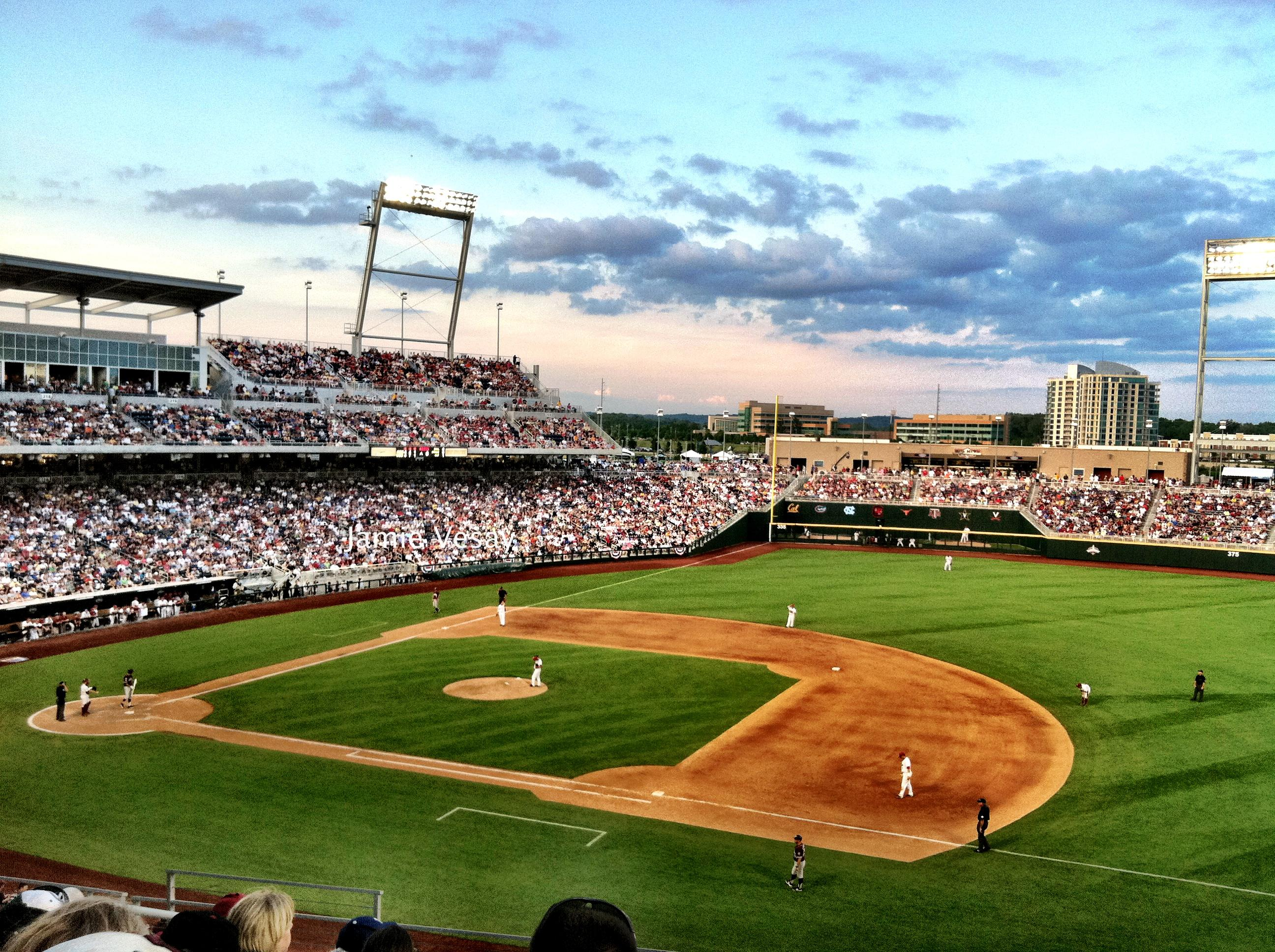 College world series cws in omaha filming photography locations in nebraska usa for Garden city community college baseball