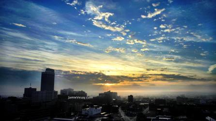 Sunrise in Omaha