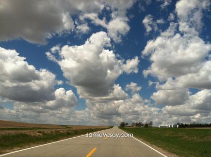 Clouds chasing Church road NE Jamie Vesay Spring 2011 IMG_0210 WM