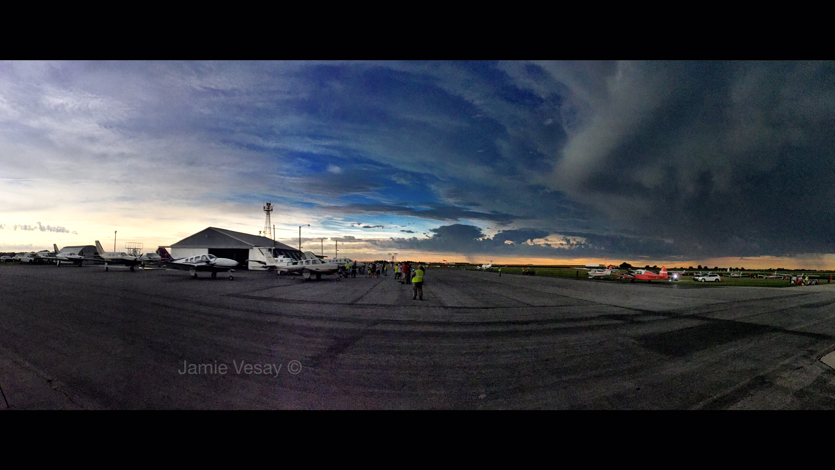 The only time you'll see a 360 sunset. Jamie Vesay