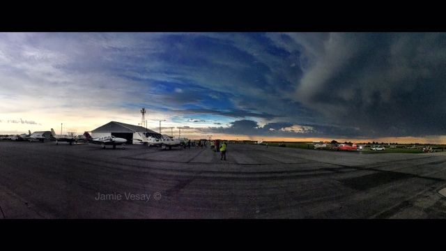 Eclipse pano at Beatrice airport Jamie Vesay WM iPhone TRD IMG_3069