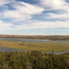 Pano of Missouri river near Niobrara