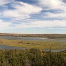Pano of Missouri river near Niobrara