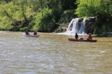 Canoers on the Niobrara