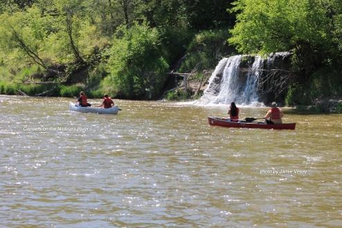 Niobrara River canoeing 514 LBD Jamie Vesay WM IMG_9451 copy