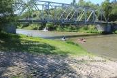 Bridge and Niobrara River in May