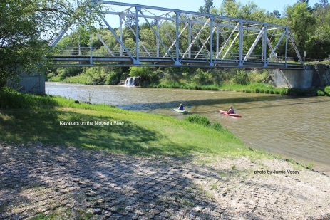 Niobrara River kayakers LBLD Jamie Vesay WM IMG_9436 copy