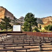 Seating at Scotts Bluff National Monument